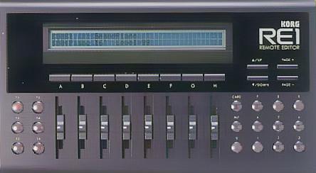 KORG RE1 Remote Editor